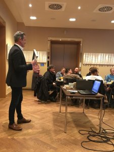Fachvortrag MEPA im Turmrestaurant in Ludwigshafen 2018